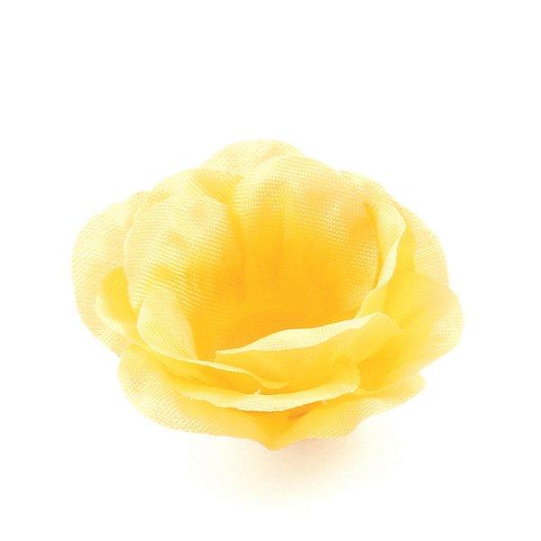 Forminhas para doces Rosa Pequena - amarela