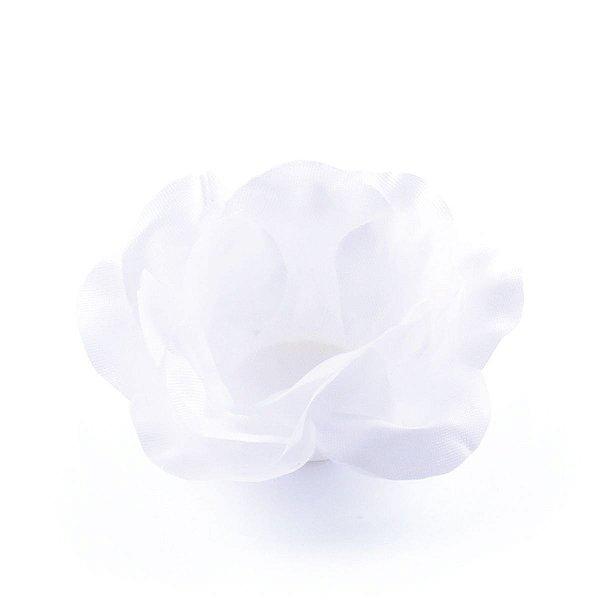 Forminhas para doces Rosa Pequena - branca