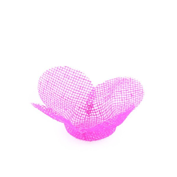 Forminhas para doces Tela Flor - rosa pink
