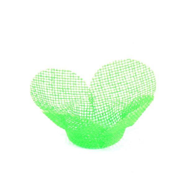 Forminhas para doces Tela Flor - verde cítrico