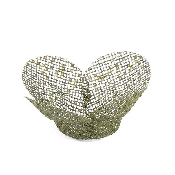 Forminhas para doces Tela Flor - verde pistache
