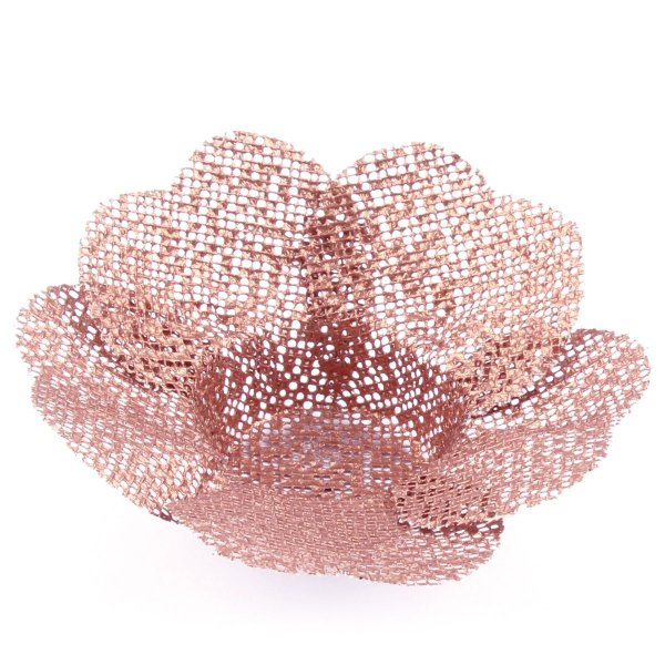 Forminhas para doces Tropical Coração Golden Tela - bronze