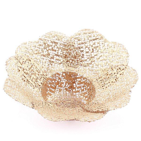 Forminhas para doces Tropical Coração Golden Tela - dourada