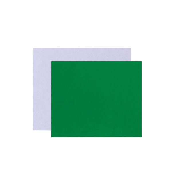 Papel chumbo para bombons 8X7,8cm - verde