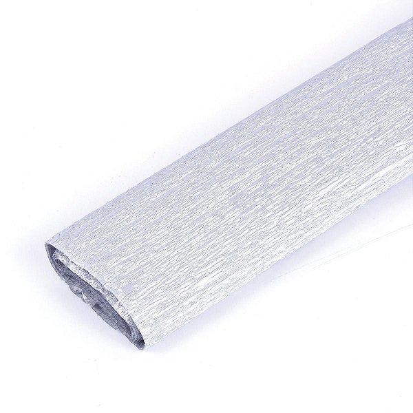 Papel Crepom - Prata