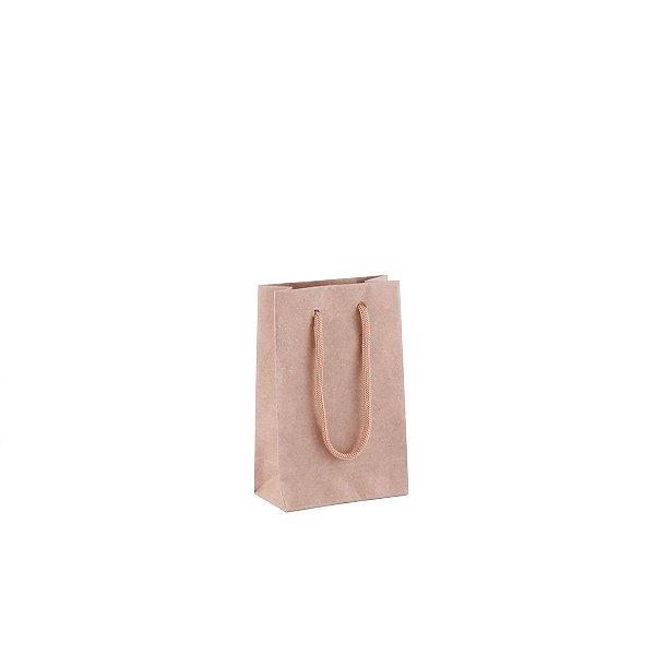 Sacola de papel kraft 9,5X15X5cm