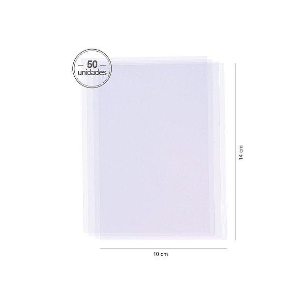 Saco transparente 10X14cm - 50 unid.