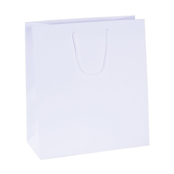 Sacola de papel   30X33,5X14cm - branca