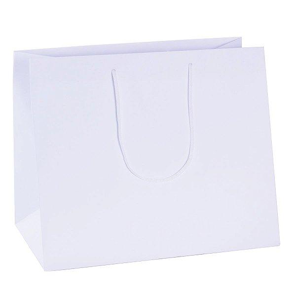 Sacola de papel  30X36X22cm - branca