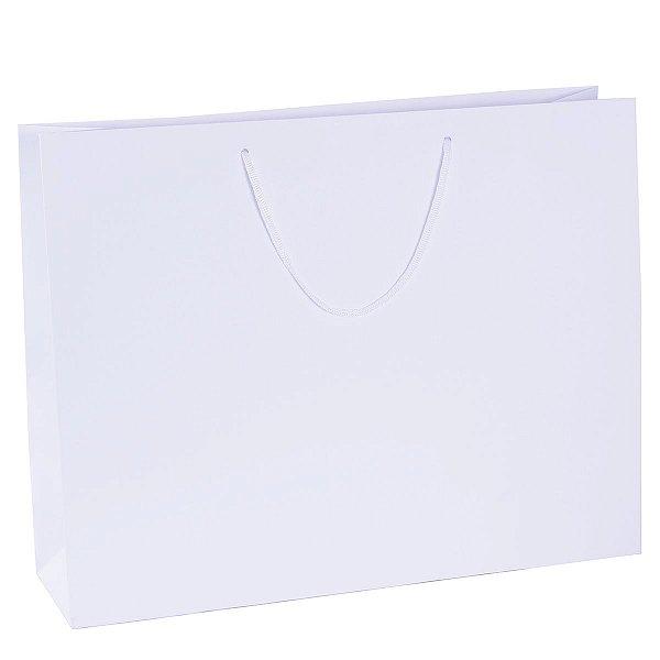 Sacola de papel  43X34X12cm - branca