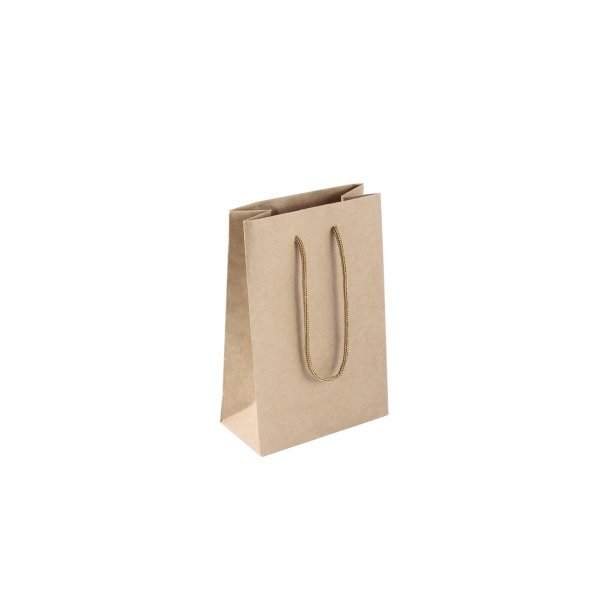Sacola de papel kraft  10X15X5cm