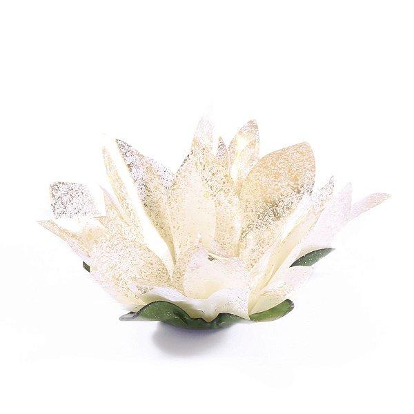 Forminhas para doces Bombom Flor de Cactus - dourado