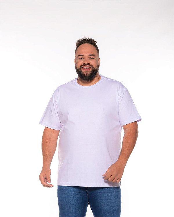 Camiseta Masculina Básica Branca Plus Size XP Ao G5 502
