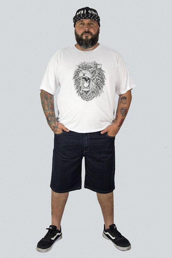 Bermuda Jeans Stretch Masculina Plus Size 2016