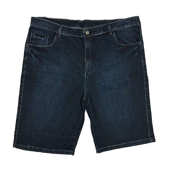 Bermuda Jeans Stretch Masculina Plus Size 2006