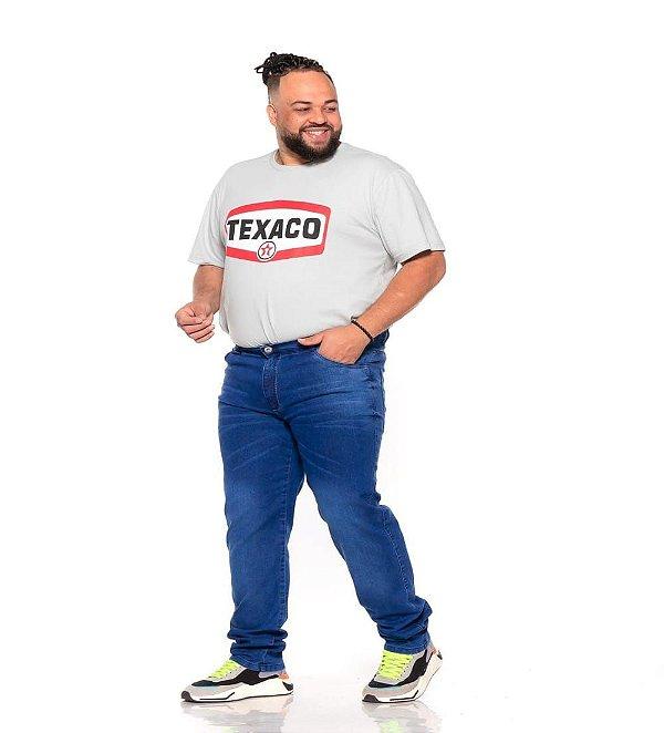 Calça Masculina Jeans Stretch Com Bigode 50 ao 78  2213