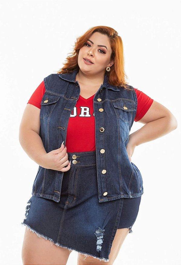 Colete Jeans Escuro XP ao G5 - 3261