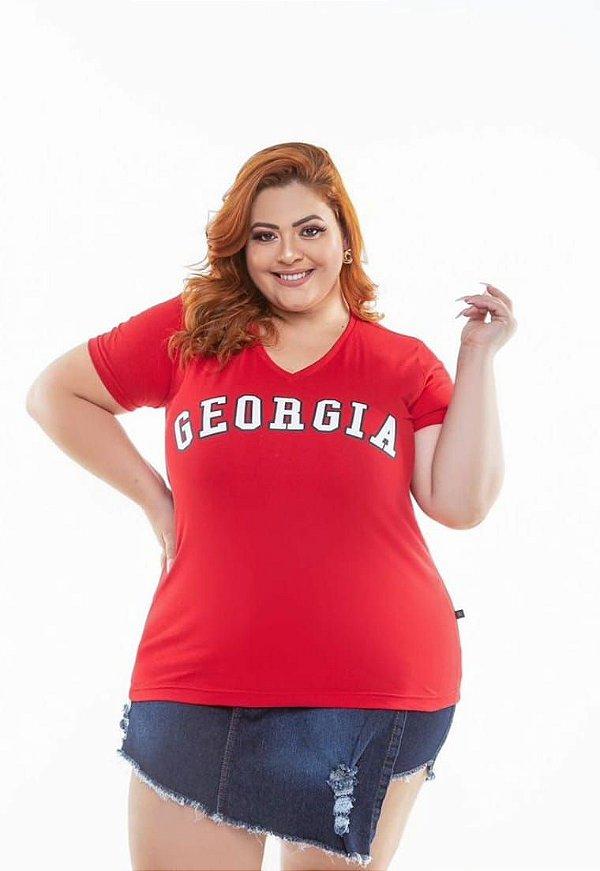 T-shirt  Georgia Vermelha XP ao G5