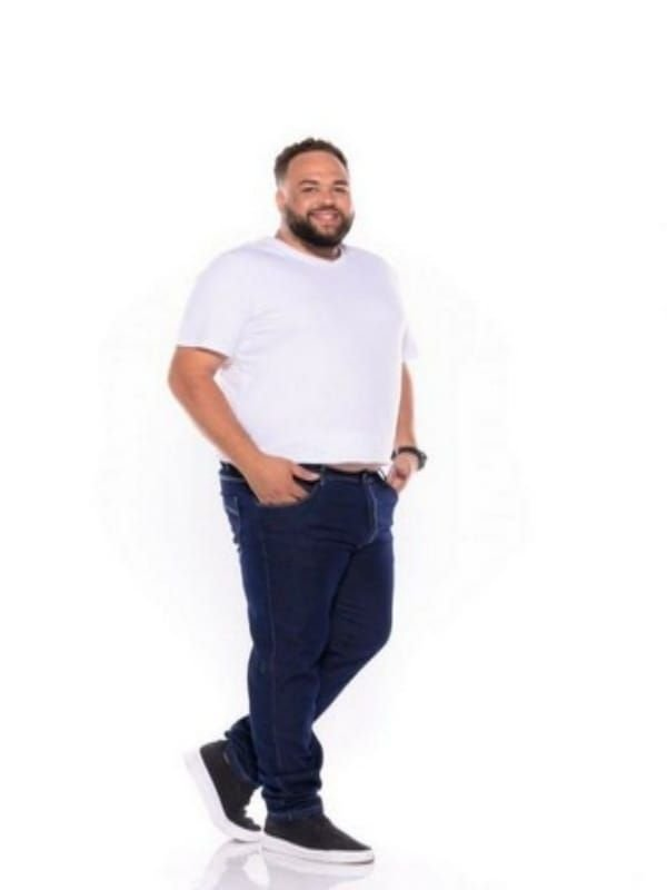 Calça Jeans Masculina Escura Plus Size 50 ao 64 2070
