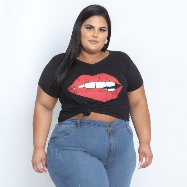 Calça Jeans Stretch Delavê Siliconado Feminina Plus Size 68 Ao 70 3187
