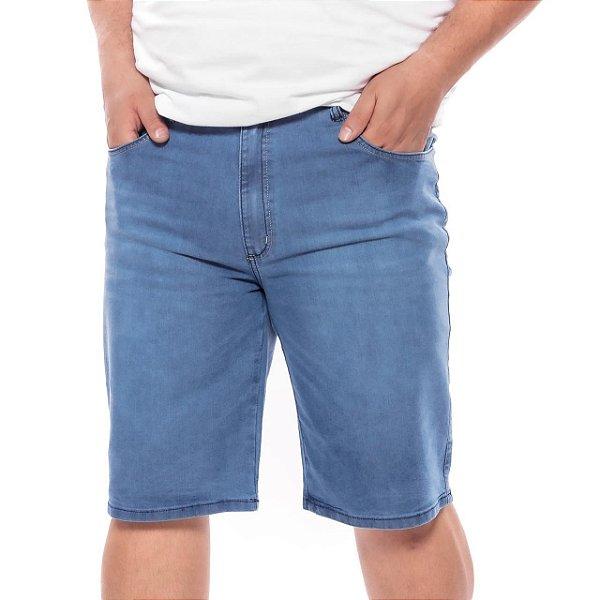 Bermuda Masculina Jeans Plus Size Pequenos Defeitos 75