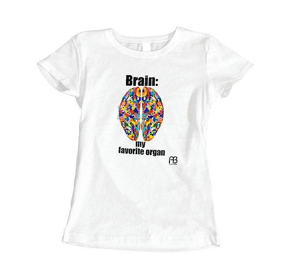 Camisa - Brain: My Favorite Organ