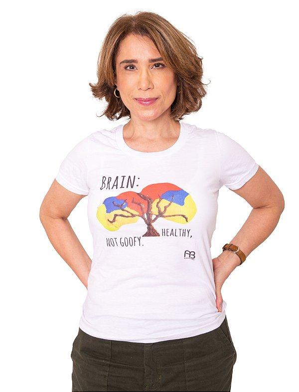 Camisa - Brain: Healthy, Not Goofy