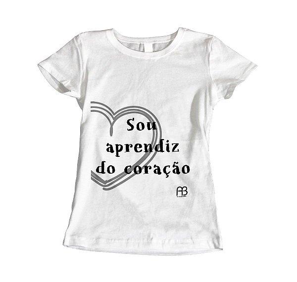 Camisa Baby Look - Sou Aprendiz do Coração