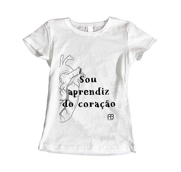 Camisa Baby Look - Sou Aprendiz do Coração - Órgão