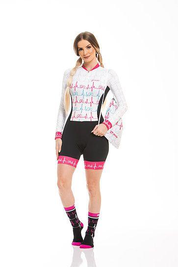 Macaquinho Ciclismo Loving Bike Longo Z-Nine