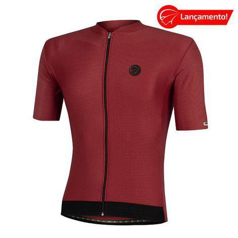 Camisa Ciclismo Fiber Vinho Mauro Ribeiro (Lançamento 2021)