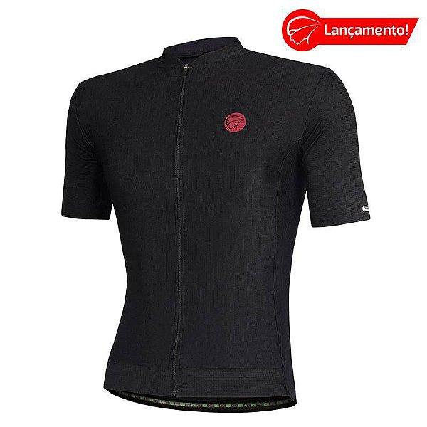 Camisa Ciclismo Fiber Preta Mauro Ribeiro (Lançamento 2021)
