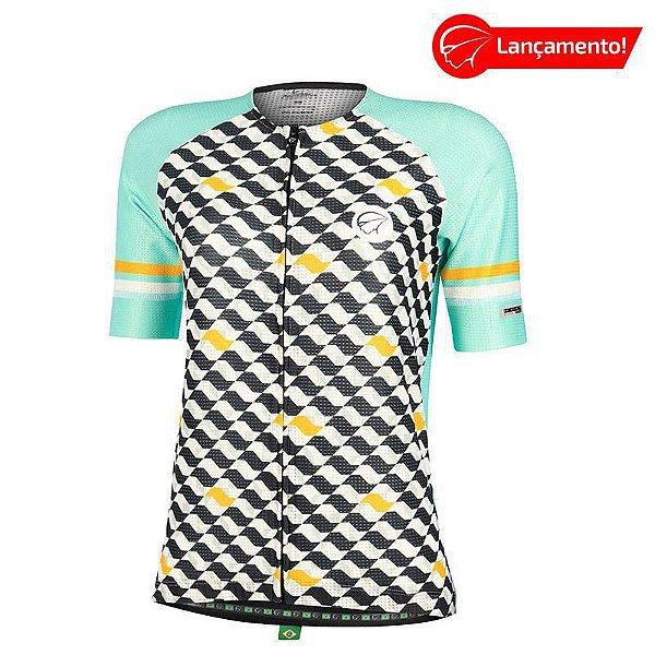 Camisa Ciclismo Feminina Flow Verde Mauro Ribeiro (Lançamento 2021)