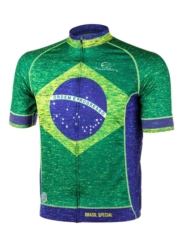 Camisa Ciclismo Brasil Special Mauro Ribeiro