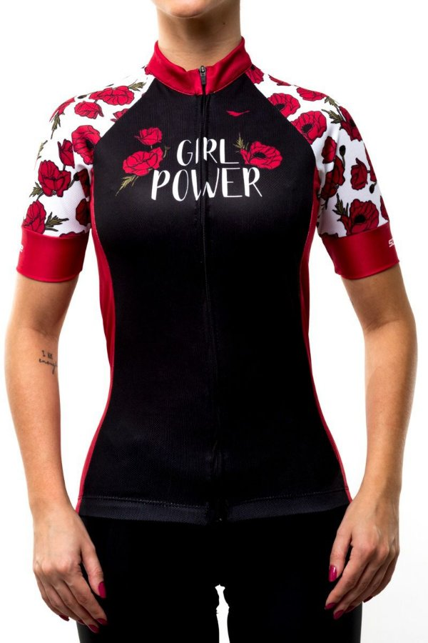Camisa Ciclismo Girl Power Scape