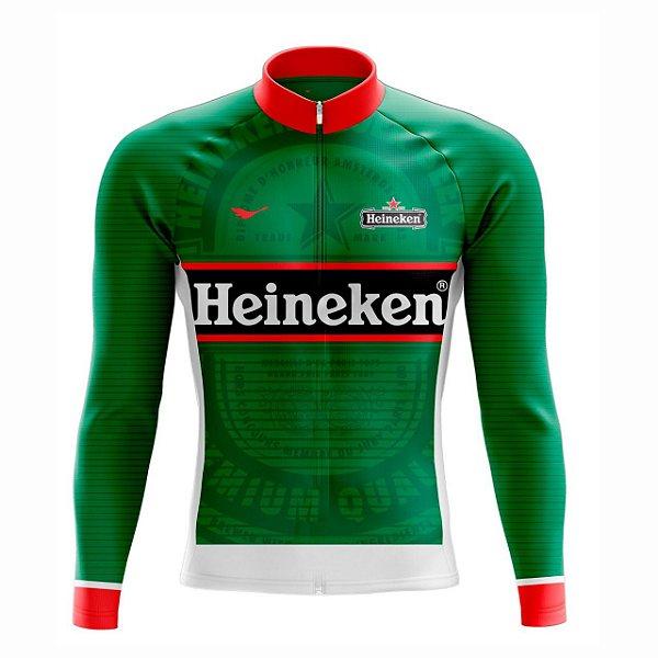 Camisa Ciclismo Manga Longa Heineken Scape