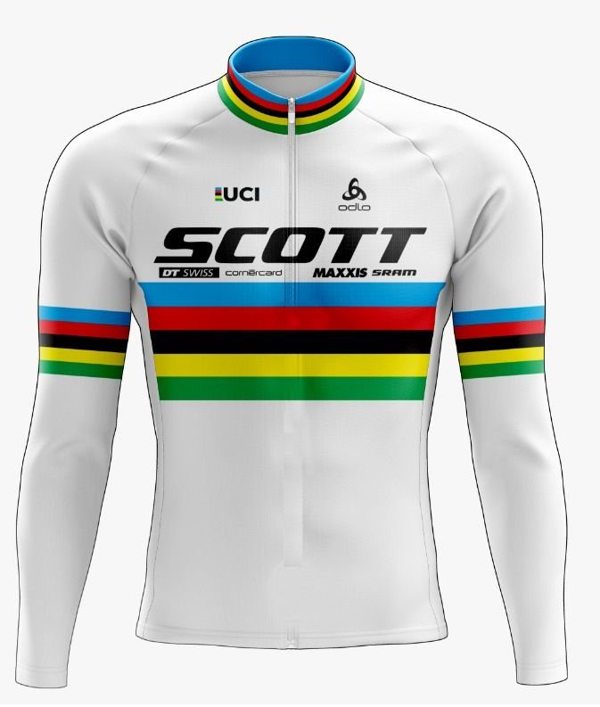 Camisa Ciclismo Scott Longa Scape