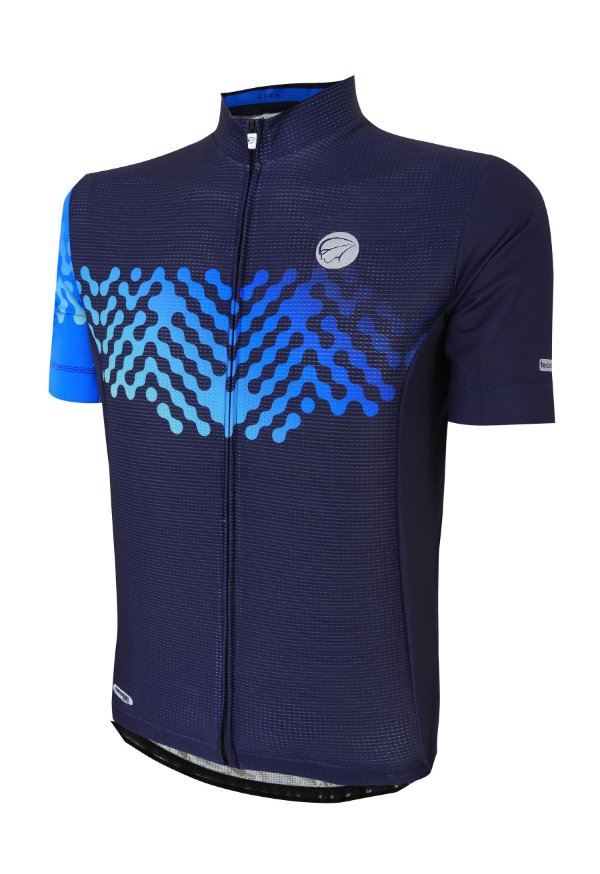 Camisa Ciclismo Even Azul Mauro Ribeiro