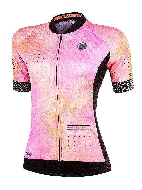 Camisa Ciclismo Real Pink Mauro Ribeiro (Lançamento 2020)
