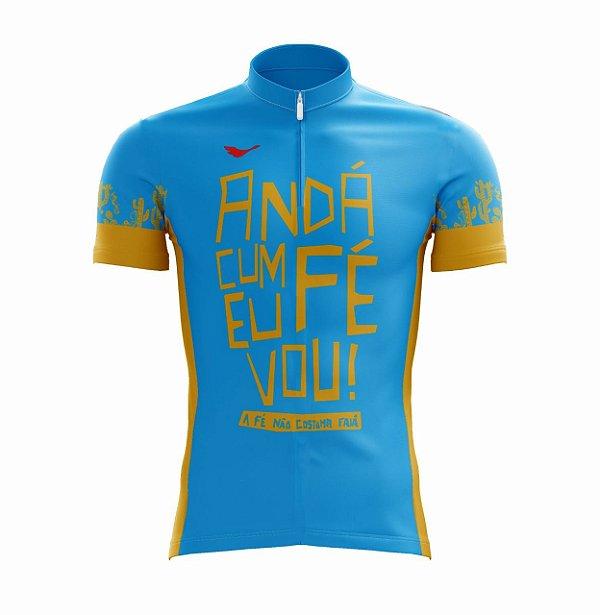 Camisa Ciclismo Anda com Fé Scape