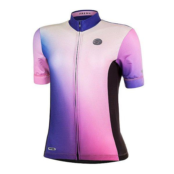 Camisa Ciclismo Fresh Rosa Mauro Ribeiro