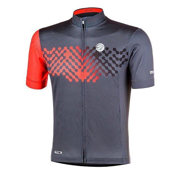 Camisa Ciclismo Even Cinza Mauro Ribeiro (Lançamento 2020)