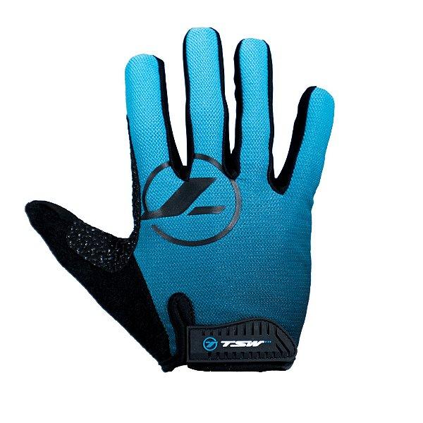 Luva Mtb DL Control Touch Azul Tsw