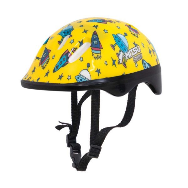 Capacete Ciclismo Infantil Little Child Amarelo MITSU