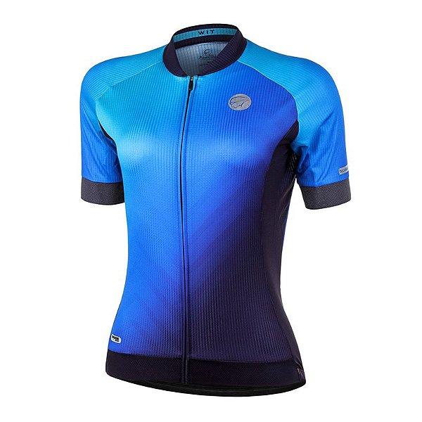 Camisa Ciclismo Wit Azul Mauro Ribeiro