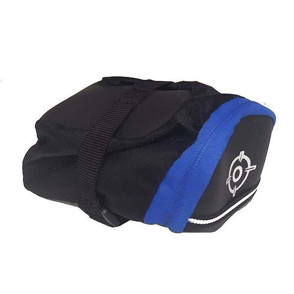Bolsa de Selim Combat Plus Probike Azul