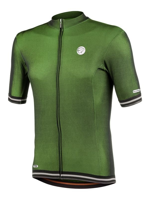 Camisa Ciclismo Adapt Verde Mauro Ribeiro