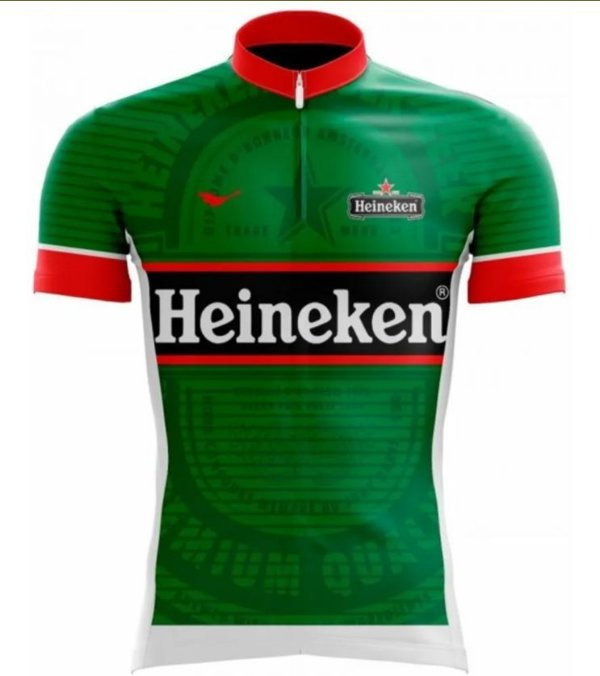 Camisa Ciclismo Heineken Scape