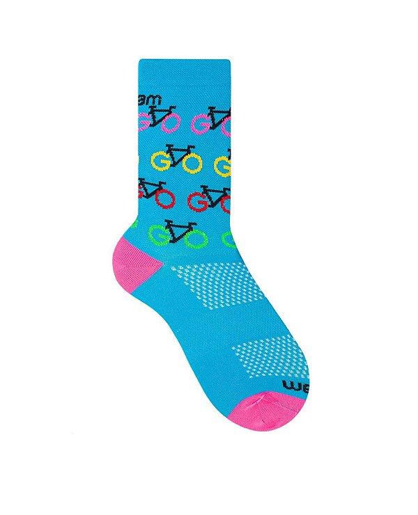 Meia Ciclismo Sport Style Rikam (34 ao 39)