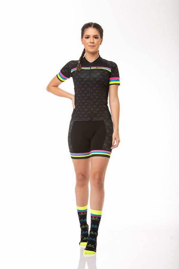 Camisa Ciclismo Sport Colorful Z-Nine